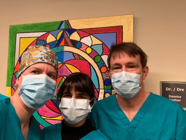 Image of Drs Switzer, Oberai and Cotterill