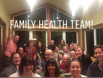 Image of The Family Health Team at our annual holiday party